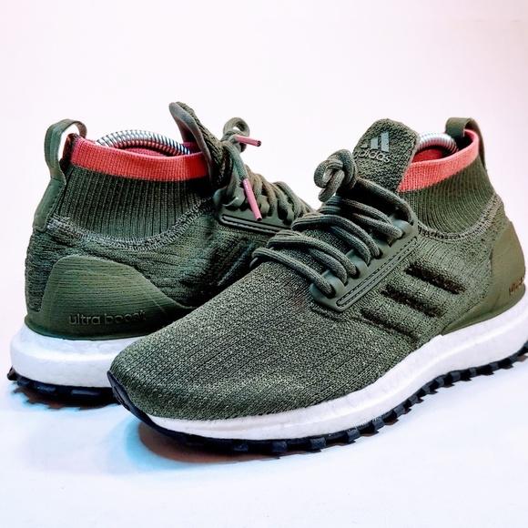 NEW Adidas UltraBOOST All Terrain Base Green NWT